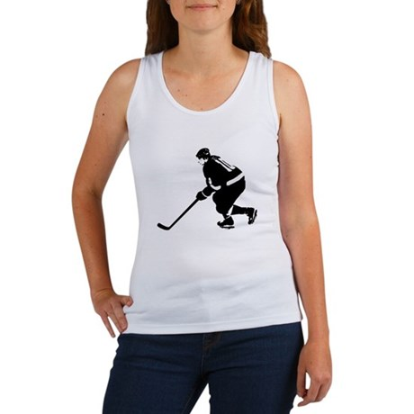 Ice Hockey Player Women's Tank Top