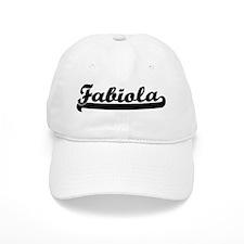 Black jersey: Fabiola Baseball Cap