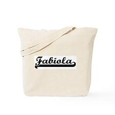 Black jersey: Fabiola Tote Bag