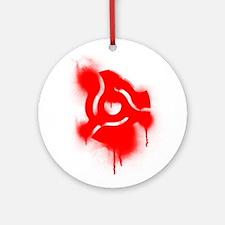 45 Adapater Graffiti Ornament (Round)