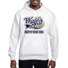 Worlds Best Boyfriend Hooded Sweatshirt