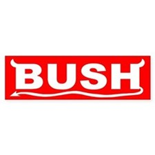 Bush IS the Devil Bumper Bumper Sticker