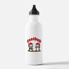 Football Penguins Water Bottle