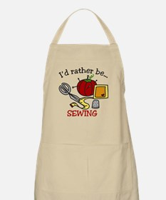 Rather Be Sewing Apron