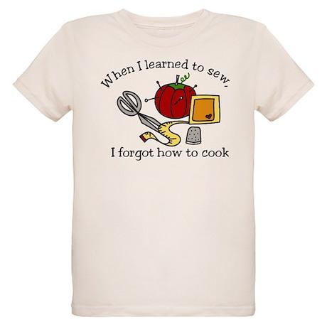 When I Learned Organic Kids T-Shirt