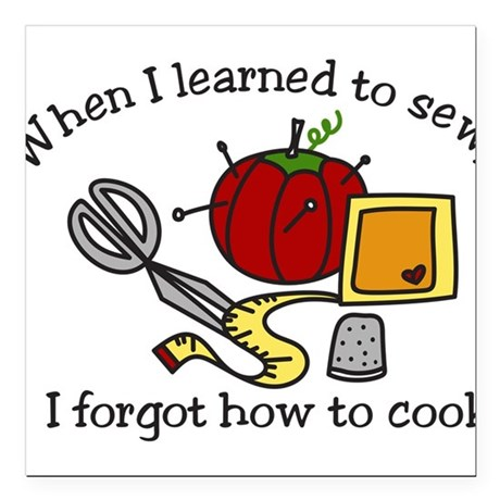 """When I Learned Square Car Magnet 3"""" x 3"""""""