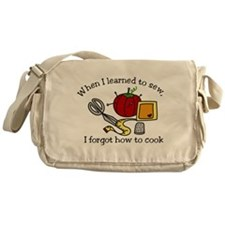 When I Learned Messenger Bag