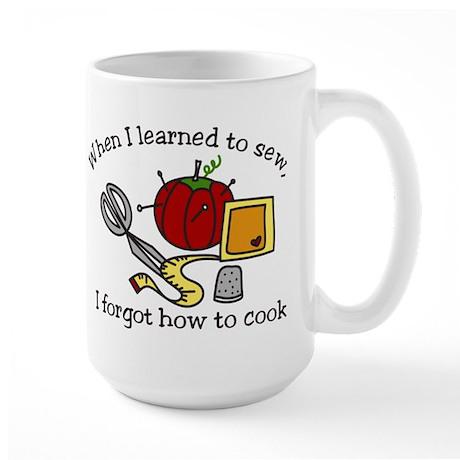 When I Learned Large Mug