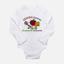 Sewing Forever Long Sleeve Infant Bodysuit