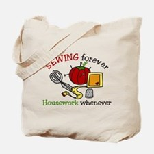 Sewing Forever Tote Bag