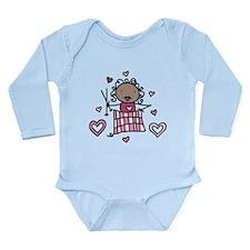 Knitter Long Sleeve Infant Bodysuit