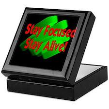 StayFocused.JPG Keepsake Box