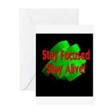 StayFocused.JPG Greeting Card