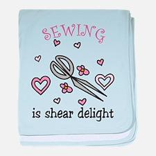 Shear Delight baby blanket