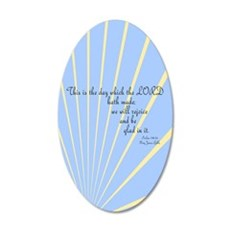 Psalms 118 Bible Verse Wall Decal