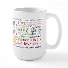 Shakespeare on Love Mug