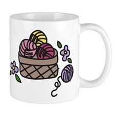 Knitting Yarn Mug