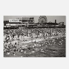 "Coney Island ""The Past"" Postcards (Packa"