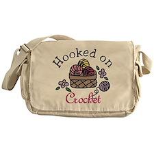 Hooked On Crochet Messenger Bag
