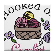 Hooked On Crochet Tile Coaster