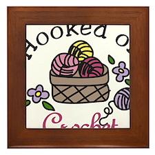 Hooked On Crochet Framed Tile