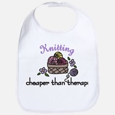 Cheaper Than Therapy Bib