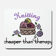 Cheaper Than Therapy Mousepad