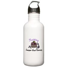 Cheaper Than Therapy Water Bottle