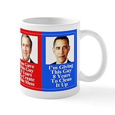 Give Obama 8 Years Yard Sign. Mugs