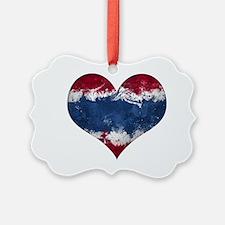 Thailand heart Ornament