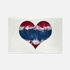 Thailand heart Rectangle Magnet