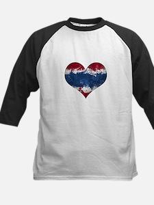 Thailand heart Kids Baseball Jersey
