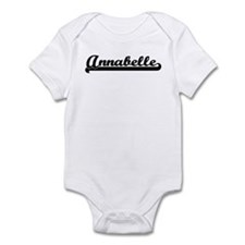 Black jersey: Annabelle Infant Bodysuit