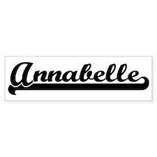 Black jersey: Annabelle Bumper Bumper Sticker