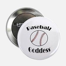 """Baseball Goddess 2.25"""" Button"""