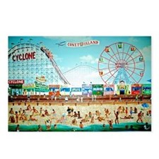 Coney Island Painting Postcards (Package of 8)