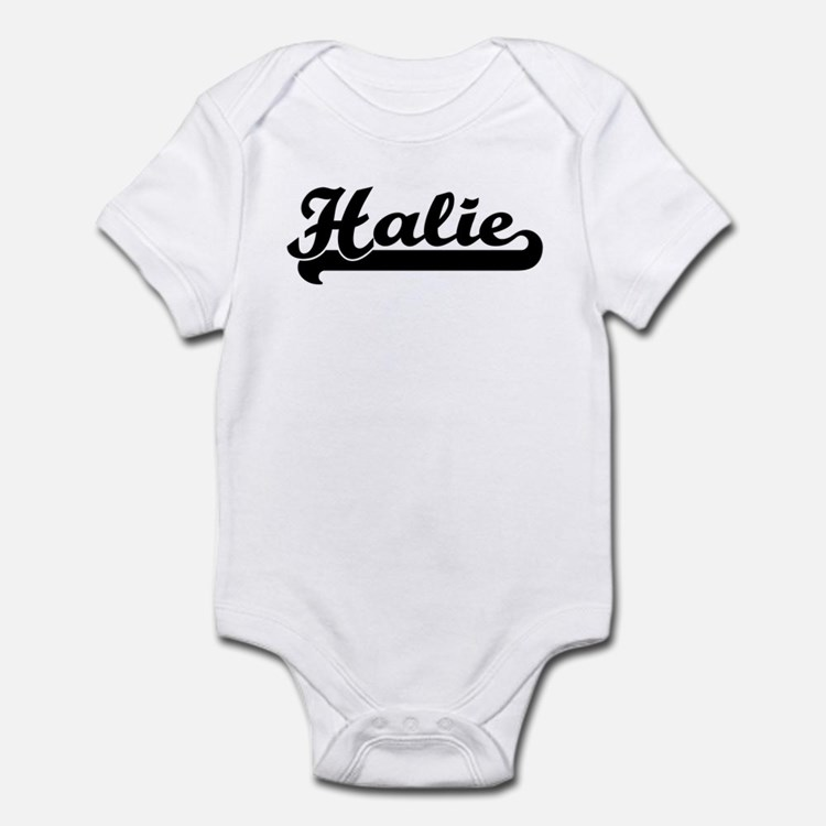 Black jersey: Halie Infant Bodysuit