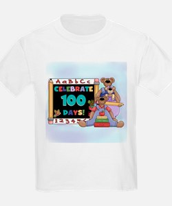 Bears 100 Days of School T-Shirt