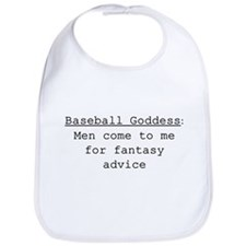 Baseball Goddess Definition Bib