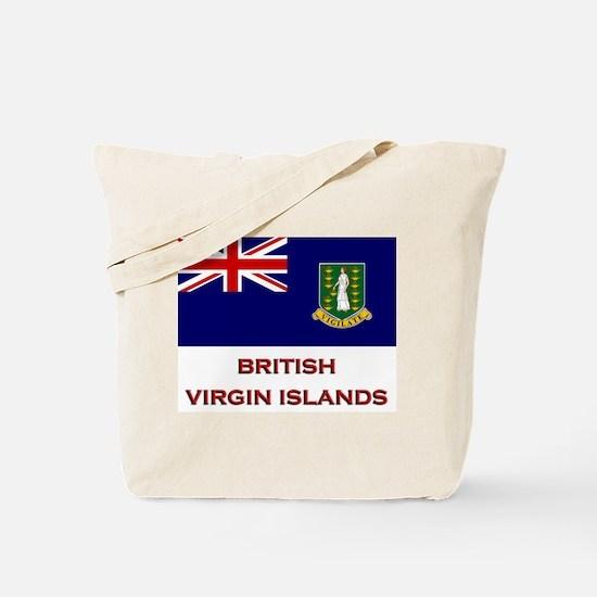 The British Virgin Islands Flag Merchandise Tote B