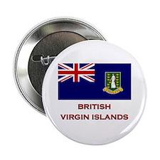 The British Virgin Islands Flag Merchandise Button