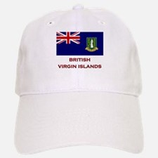 The British Virgin Islands Flag Merchandise Baseball Baseball Cap