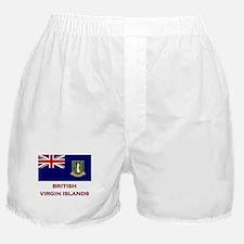 The British Virgin Islands Flag Merchandise Boxer