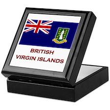The British Virgin Islands Flag Merchandise Tile B