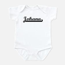 Black jersey: Johana Infant Bodysuit