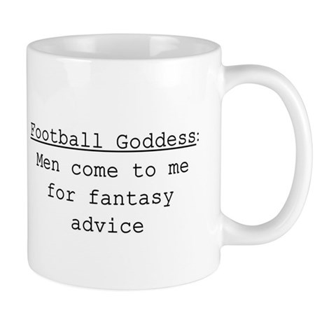 Football Goddess Definition Mug