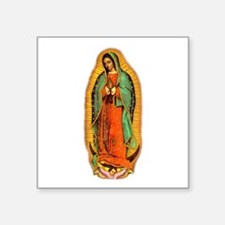 Virgen de Guadalupe Oval Sticker