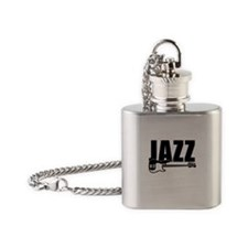 jazz bass Flask Necklace