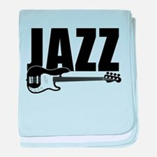 jazz bass baby blanket