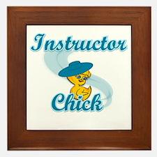 Instructor Chick #3 Framed Tile